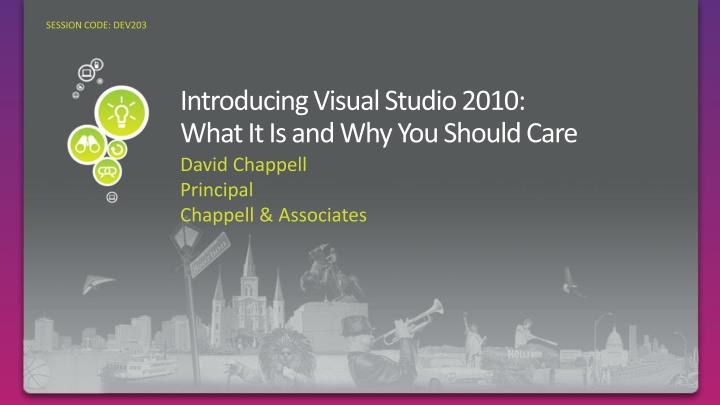 introducing visual studio 2010 what it is and why you should care n.