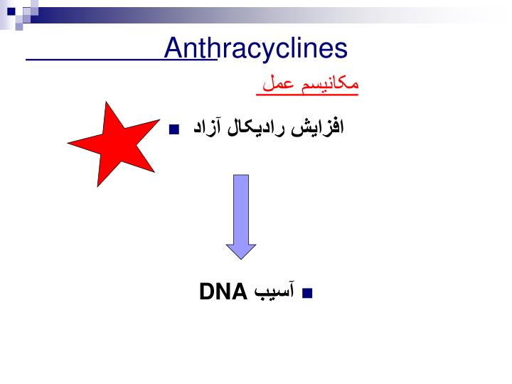 Anthracyclines