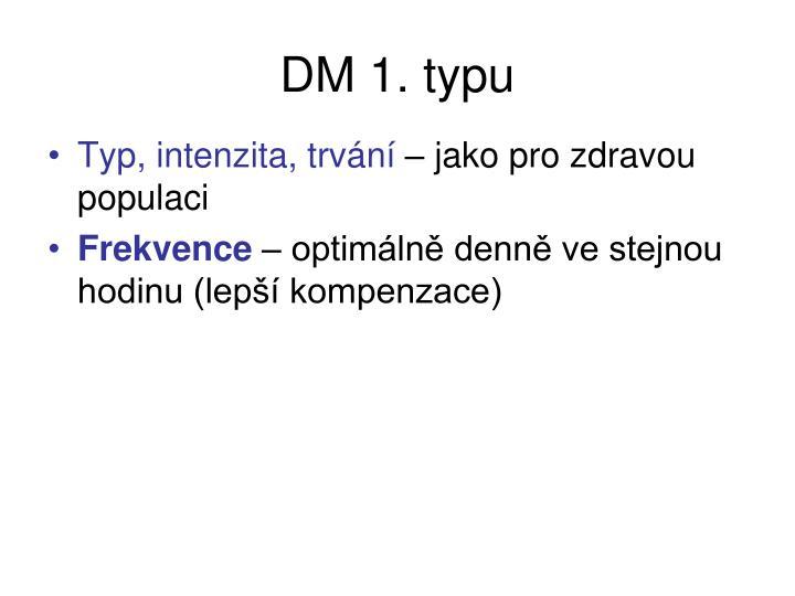 DM 1. typu