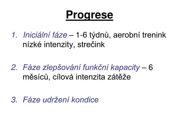 Progrese