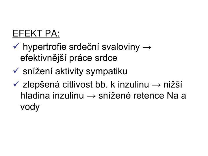 EFEKT PA:
