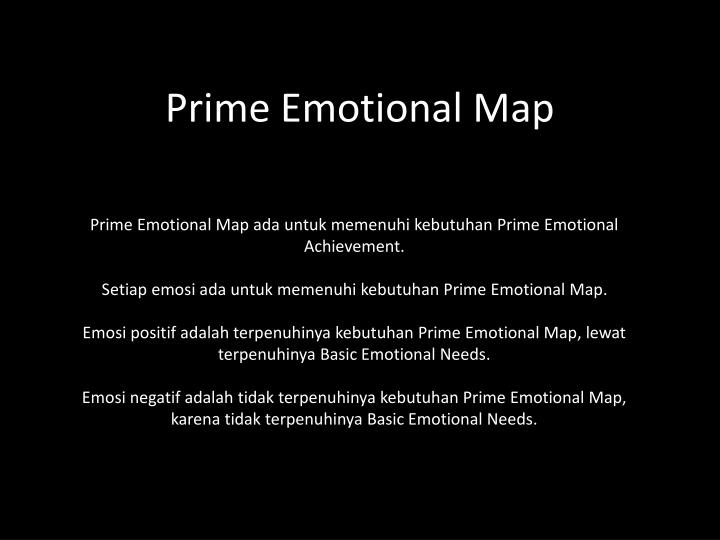 Prime Emotional Map