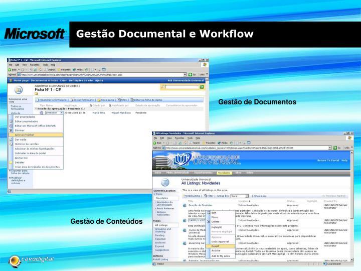 Gestão Documental e Workflow