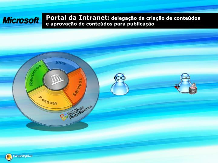 Portal da Intranet: