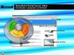 sharepoint portal server 2003 orienta o e pesquisa na intranet