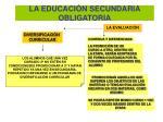 la educaci n secundaria obligatoria