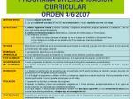 programa diversificaci n curricular orden 4 6 2007