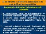 il contratto collettivo aziendale e la sua efficacia soggettiva