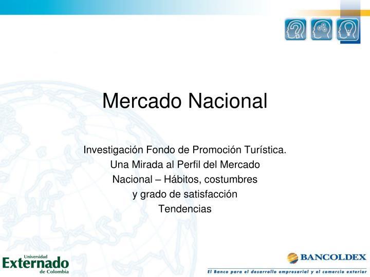 Mercado Nacional
