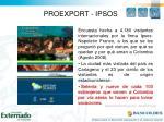 proexport ipsos