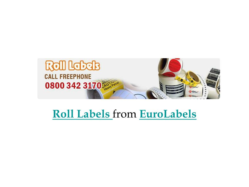 roll labels from euro labels l.