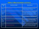 tabela 4 meta mecanismos de busca