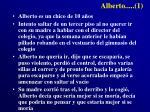 alberto 1