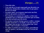 enrique 1