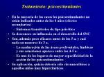 tratamiento psicoestimulantes