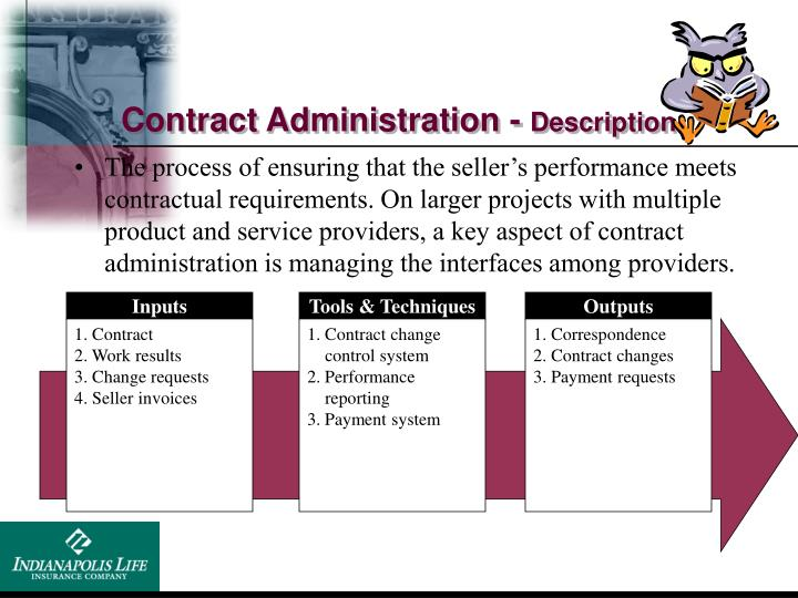 Contract Administration -