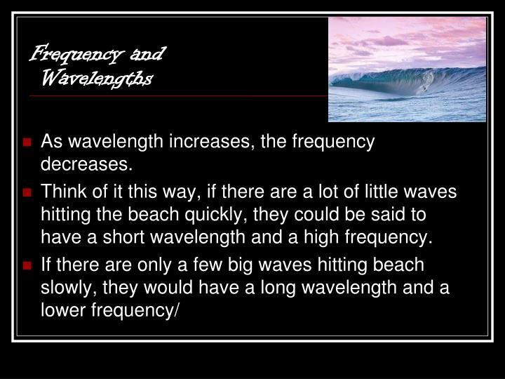 Frequency and