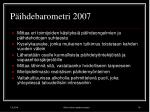 p ihdebarometri 2007