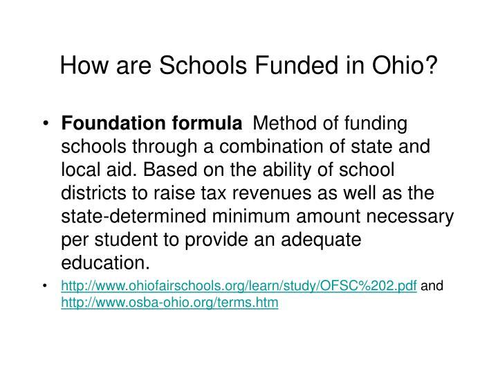 Foundation formula