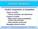 channel dynamics1