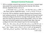 network control protocols