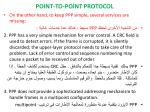 point to point protocol5