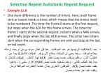 selective repeat automatic repeat request15