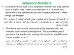 sequence numbers1