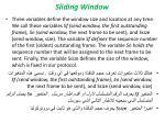 sliding window4