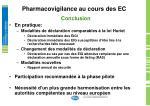 pharmacovigilance au cours des ec17