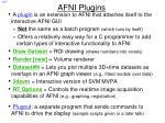 afni plugins