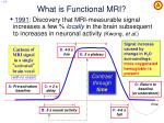 what is functional mri