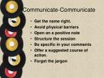 communicate communicate1