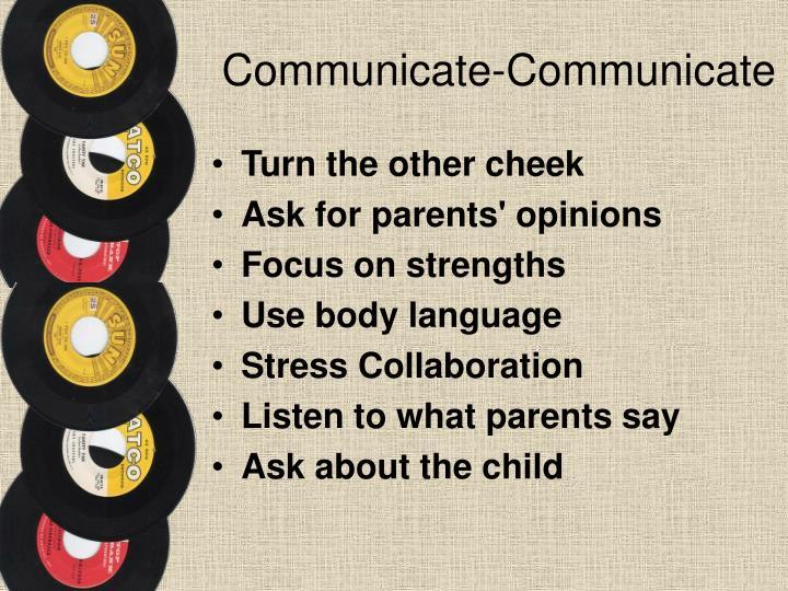 Communicate-Communicate