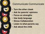 communicate communicate2