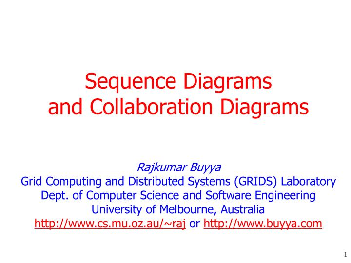 sequence diagrams and collaboration diagrams n.