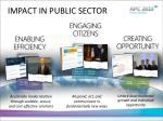 impact in public sector