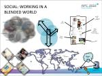 social working in a blended world