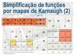 simplifica o de fun es por mapas de karnaugh 2