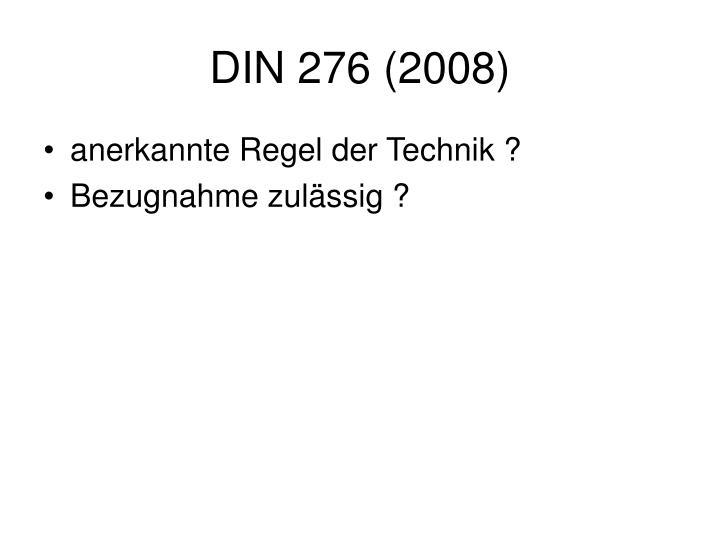 DIN 276 (2008)