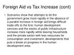 foreign aid vs tax increase cont3