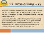 hz peygamber s a v