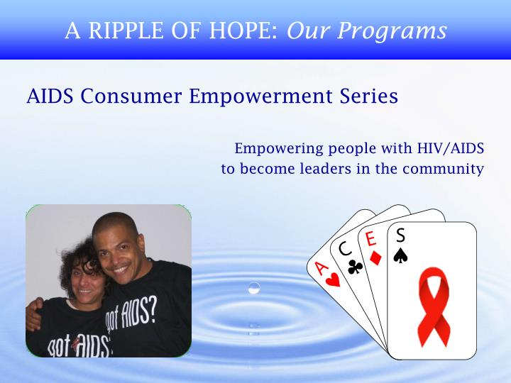 A ripple of hope our programs