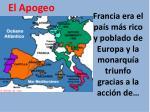 francia era el pa s m s rico y poblado de europa y la monarqu a triunfo gracias a la acci n de