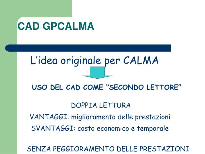 CAD GPCALMA
