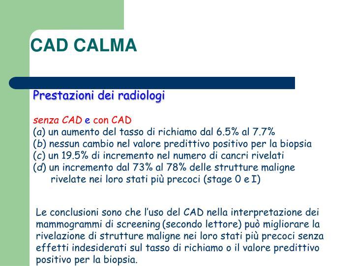 CAD CALMA