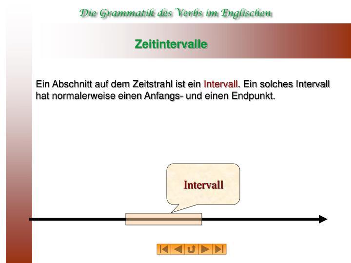 Intervall