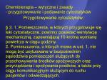 chemioterapia wytyczne i zasady przygotowywanie i podawanie cytostatyk w5
