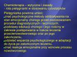 chemioterapia wytyczne i zasady rola piel gniarki w stosowaniu cytostatyk w5