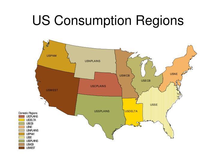 US Consumption Regions